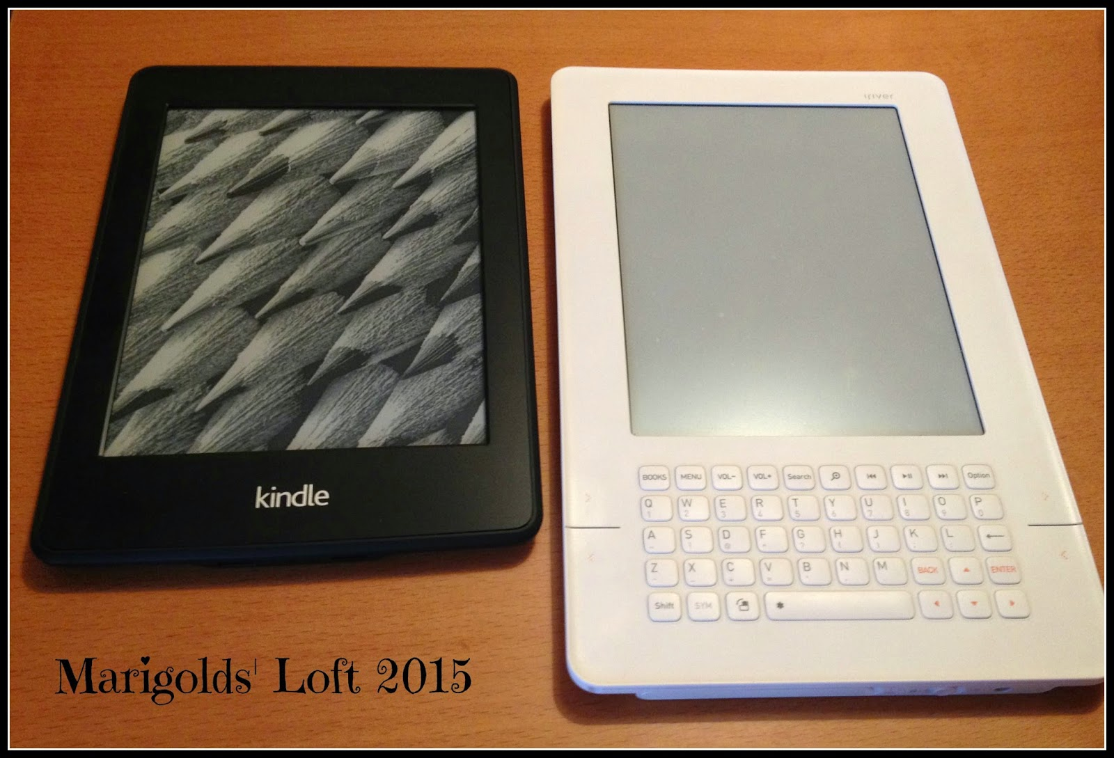 iRiver vs Kindle Paperwhite