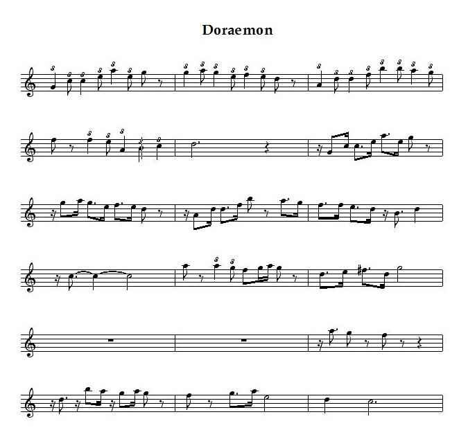 Guitar : doraemon guitar tabs Doraemon Guitar Tabs : Doraemon Guitaru201a Guitar