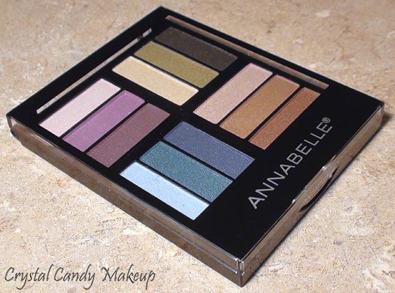 Palette d'ombres à paupières Fabulous 4 d'Annabelle