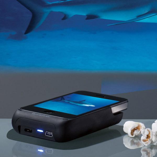 gadgets, oficina, proyector, proyector de bolsillo, smartphone, iphone