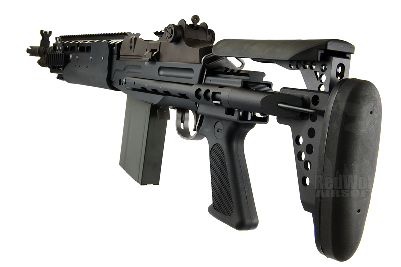 We M14 EBR Airsoft Gas Blowback Rifle