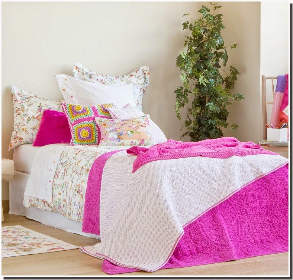 Nassima home collection linge de lit de zarahome 2014 2015 - Collection bouchara linge de lit ...