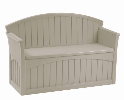 Plastic outdoor storage bench outdoor patio storage bench for Outdoor plastic bench seats