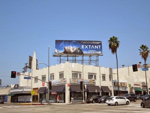 Extant CBS billboard