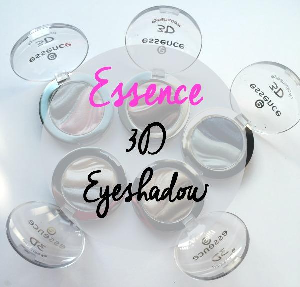 Essence 3d eyeshadows review