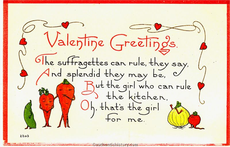 Happy Vintage Postcard Valentineu0027s Day!
