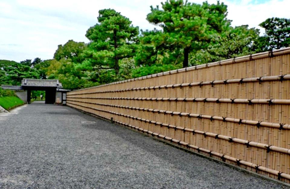 cerca para jardim altaCerca De Bambu