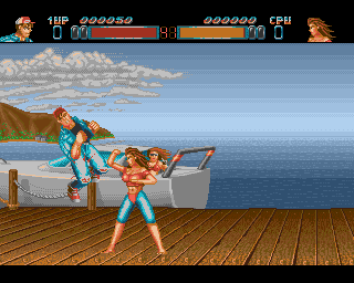 Body Blows On The Amiga
