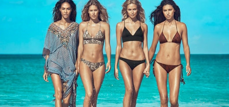 H&M Swim Campaign Summer 2015 stars the hottest models