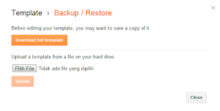 Restore,backup,backup/restore,cara backup template,blogger template,template blog