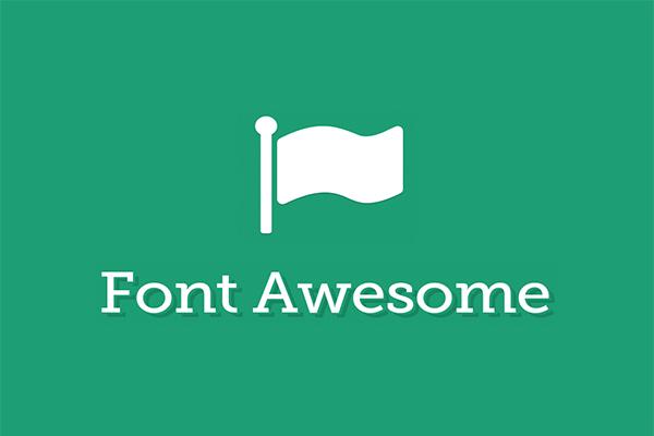 Cara Menggunakan Ikon Font Awesome di Blog