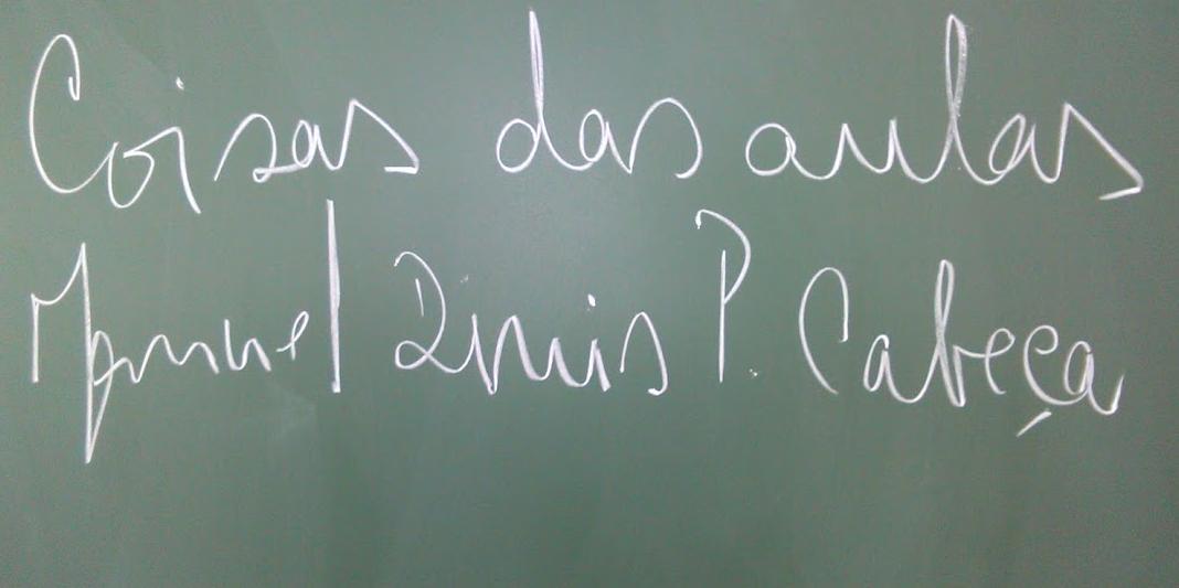 Coisas das aulas