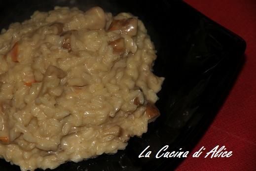 La cucina di alice risotto ai funghi porcini e buon week end - La cucina di alice ...