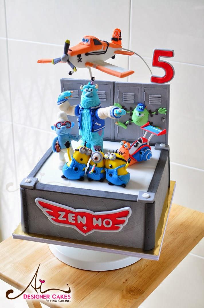 Ai Designer Cakes by Eric Chong, Custom design Wedding, Birthday, 3D ...