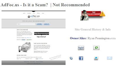 ptc investigation adfoc.us