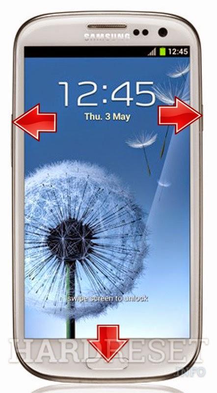 Hard Reset Samsung I9300