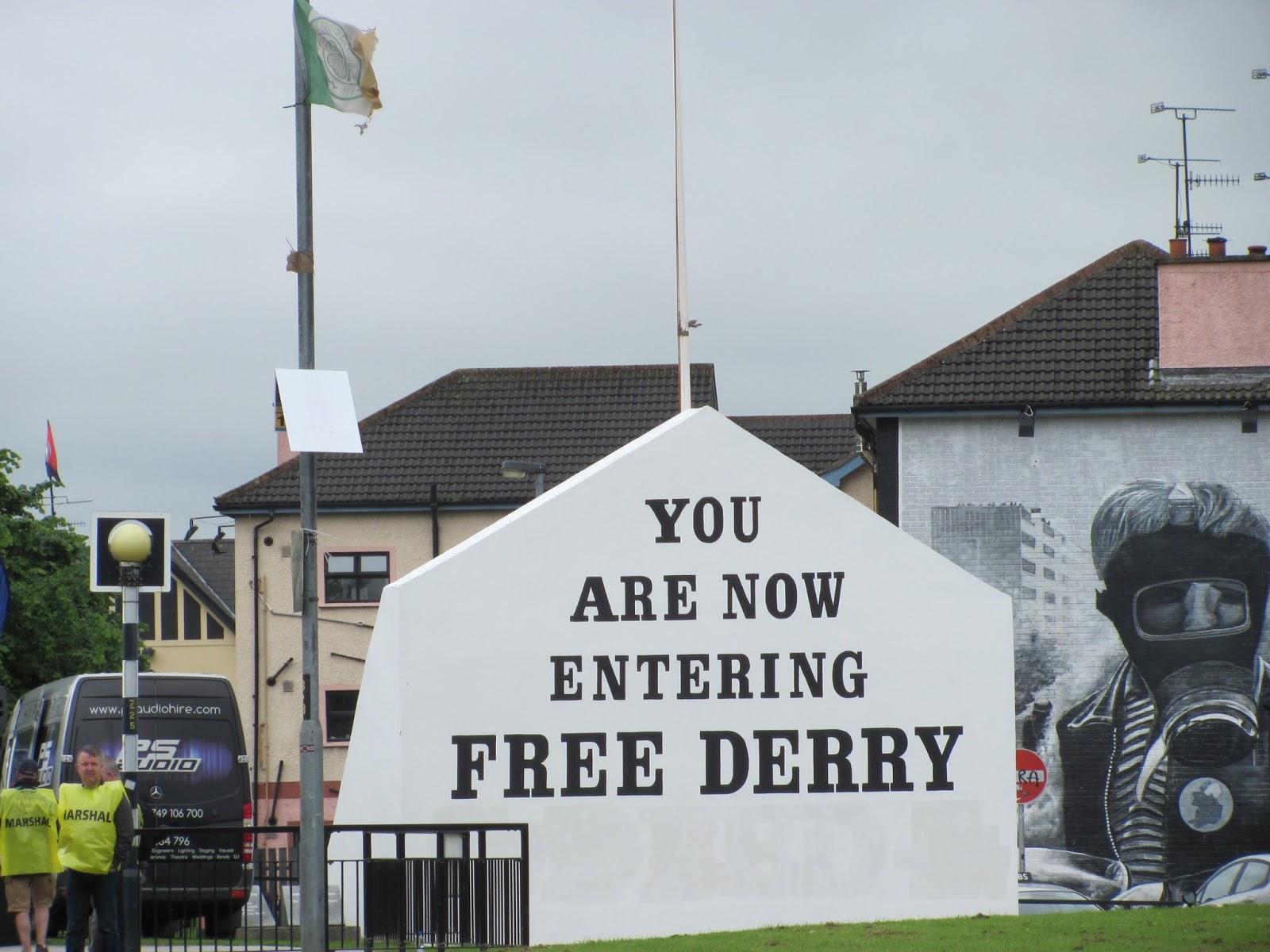 Free Derry Corner, Petrol Bomber mural