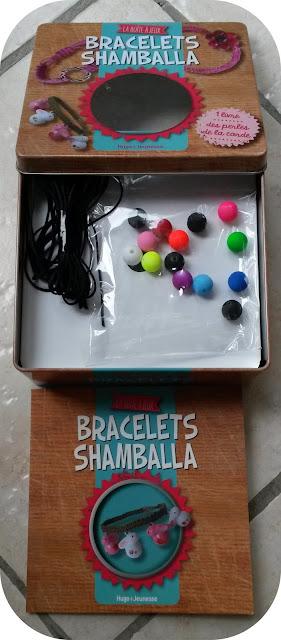 boite à jeux bracelet shamballa