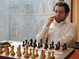 Le champion d'échecs arménien Levon Aronian n°3 mondial