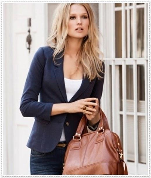 2014 bayan blazer ceket kombinleri