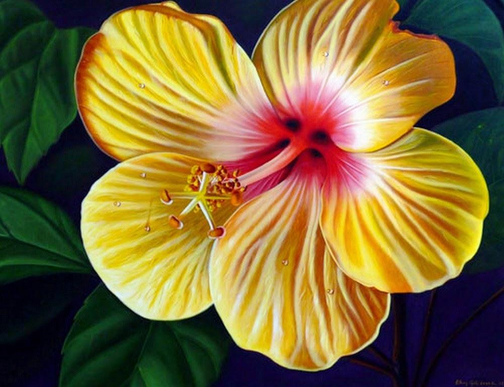 cuadros-con-flores-amarillas