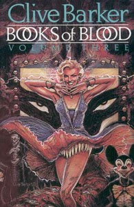 Portada original de Books of Blood: Volume III, de Clive Barker