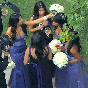 kim kardashian wedding the makes
