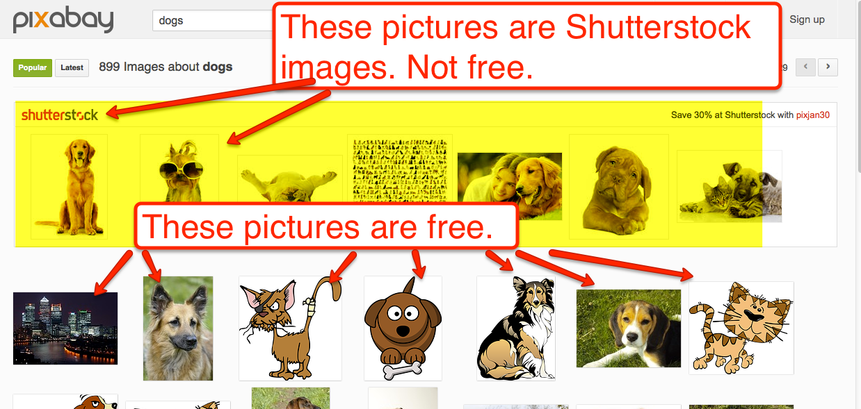 Free technology for teachers how to use pixabay to find free images