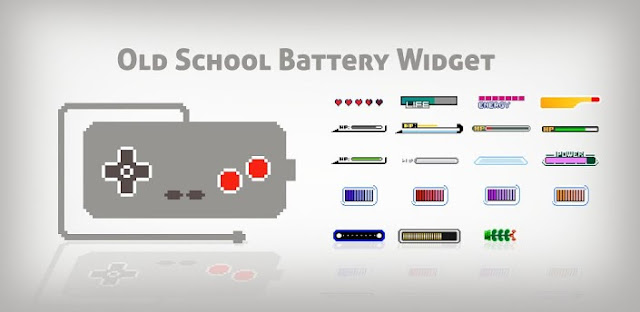 OldSchool Battery Widget (Pro) v1.0.1 APK