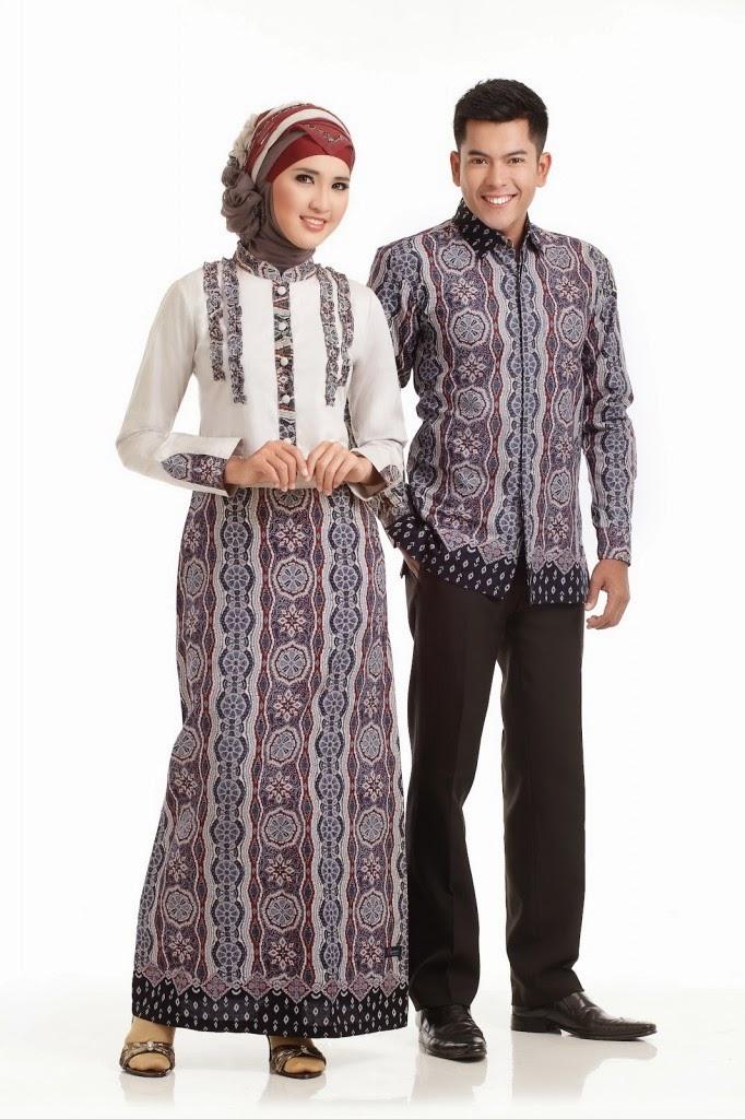 Foto Koleksi Model Baju Batik Pria Dan Wanita Couple Unik
