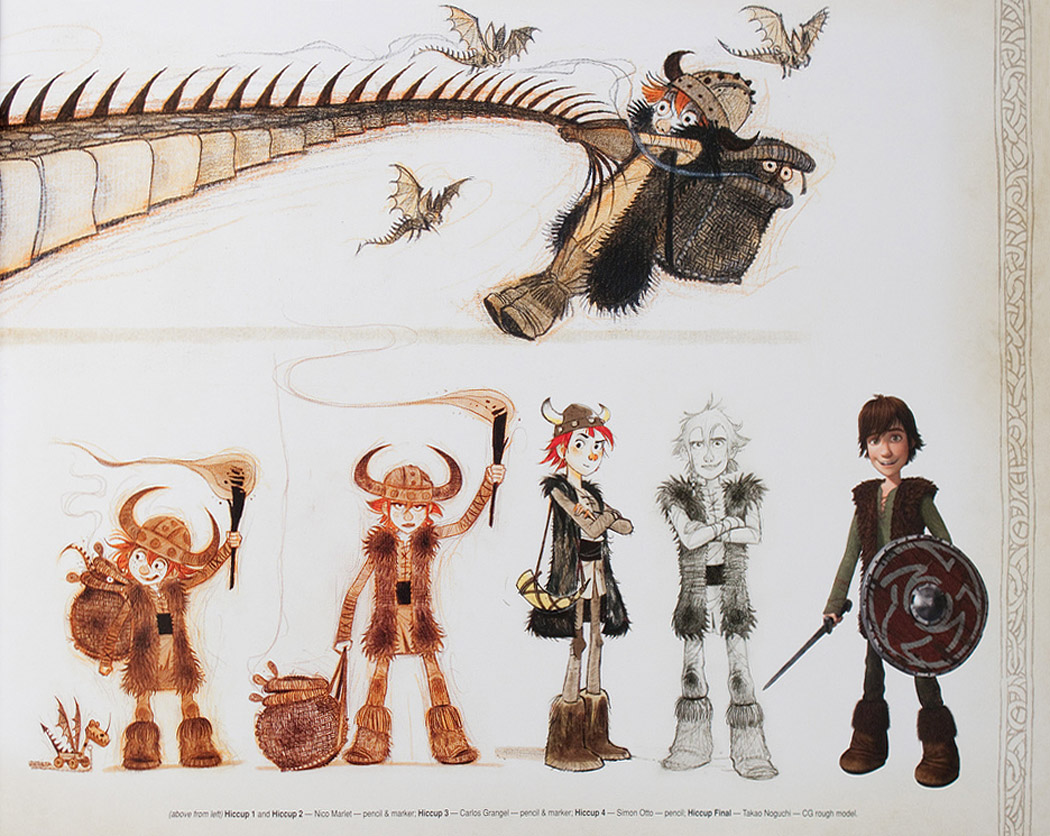 Character Design How To Train Your Dragon 2 : Living lines library how to train your dragon