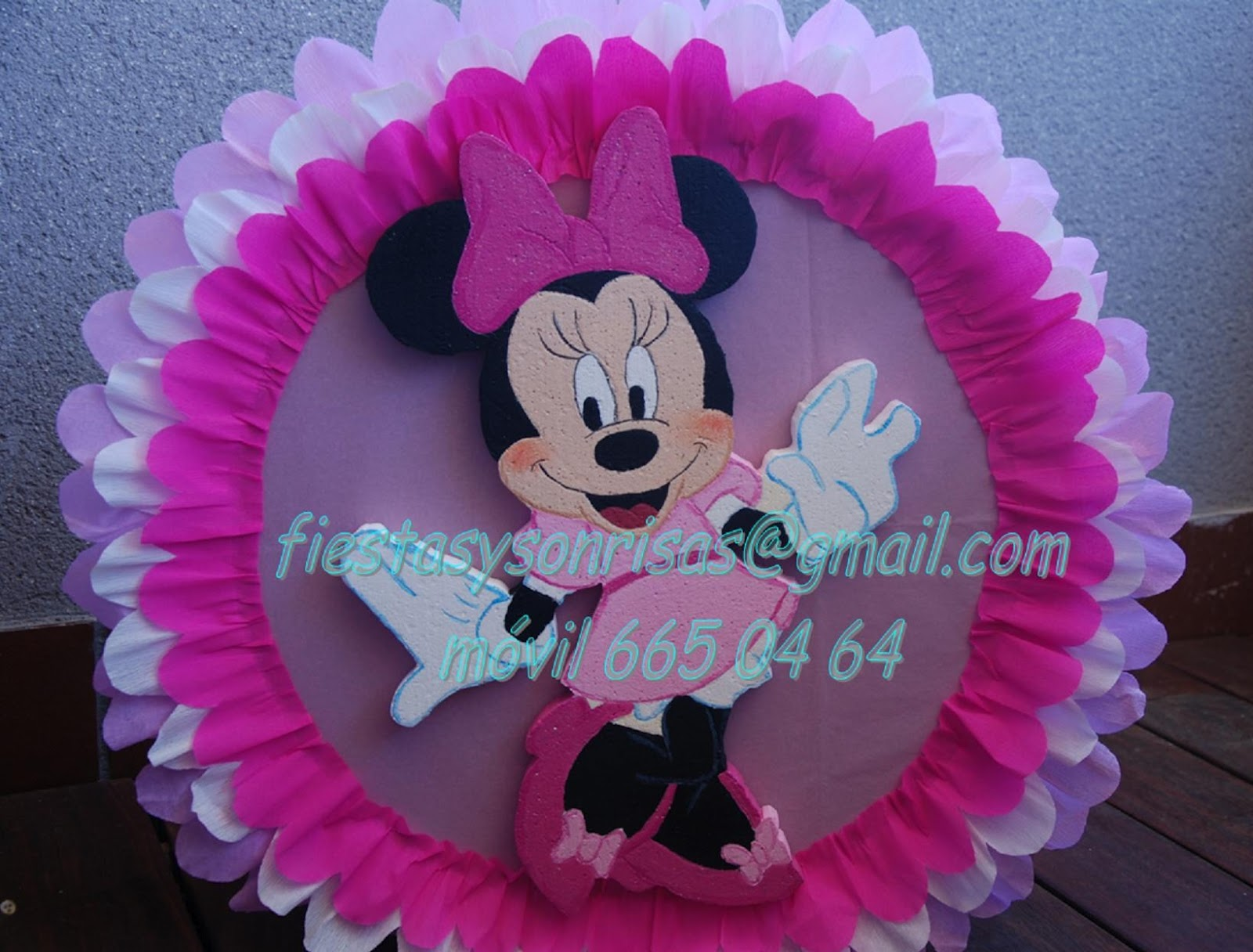 Pin cumplea os de minnie fiestas infantiles decoracion for Decoracion de minnie mouse