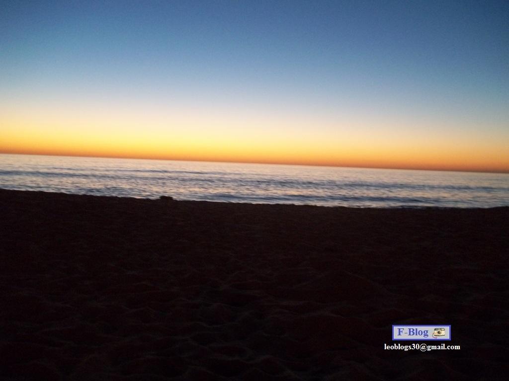 Punta del Este - Playa, atardecer y cielo de colores - Playa Mansa