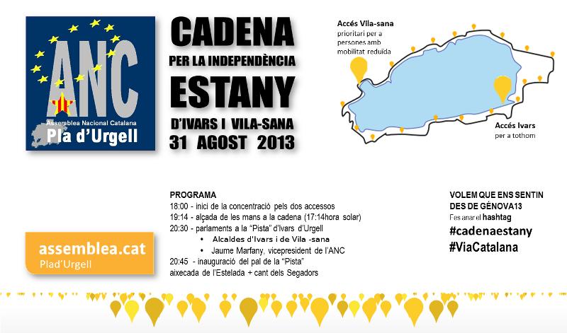 Cadena a l'Estany d'Ivars i Vila-sana