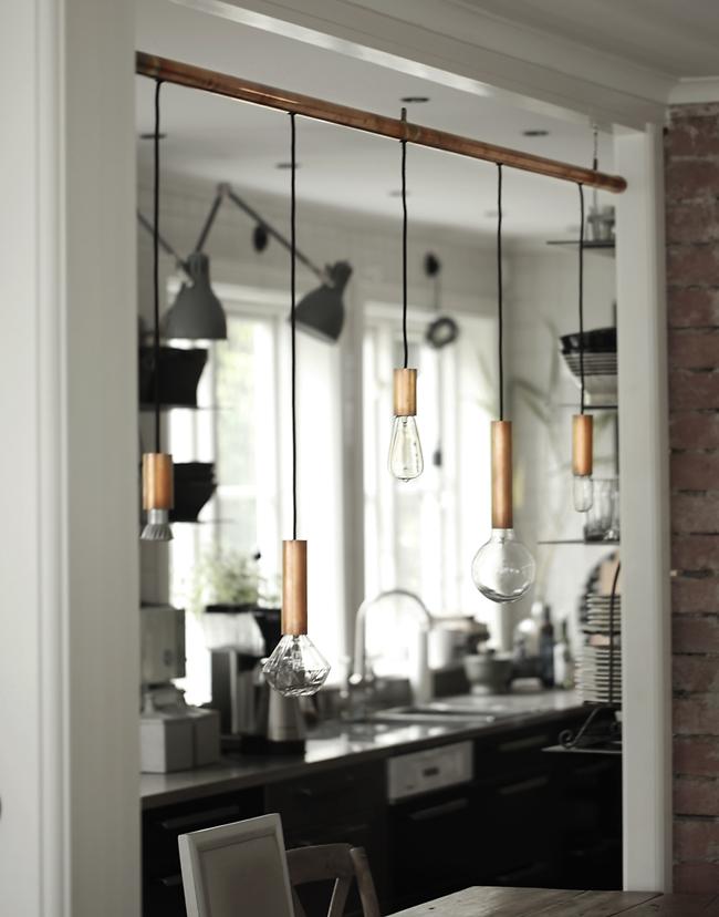 regardsetmaisons lampes suspendues en cuivre diy. Black Bedroom Furniture Sets. Home Design Ideas
