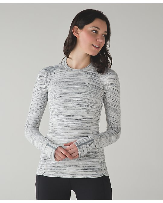 lululemon runderful-ls white-silver-space-dye-camo