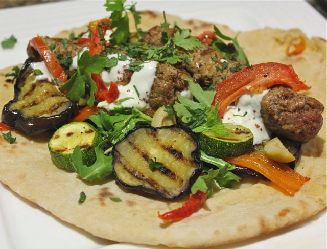 SPICY LAMB KEBAB