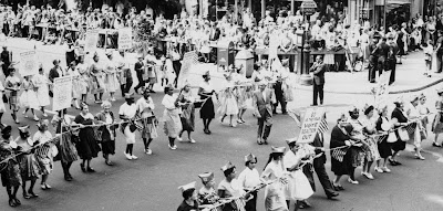 1960 Labor Day parade