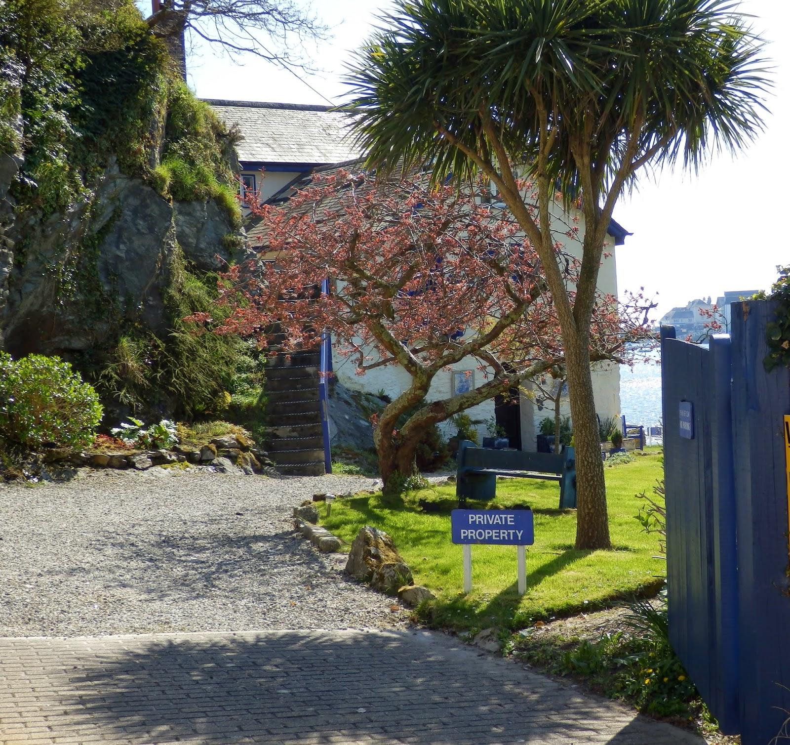 Ferryside Daphne Du Maurier's house Cornwall