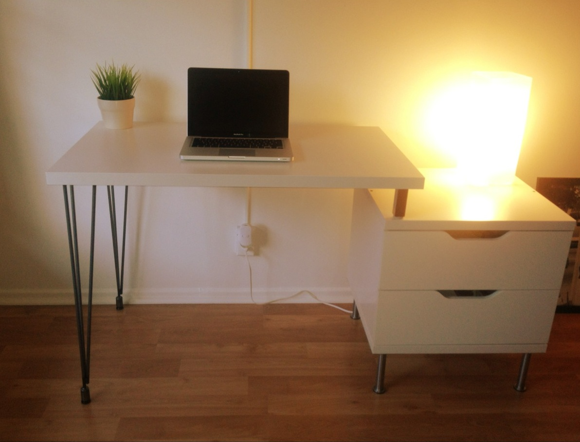 stolmen hairpin leg desk ikea hackers ikea hackers. Black Bedroom Furniture Sets. Home Design Ideas