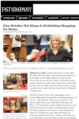 Hot Mama Rethinks Retail Experience
