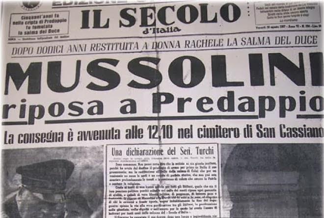 """"""" IL SECOLO D' ITALIA"""""""