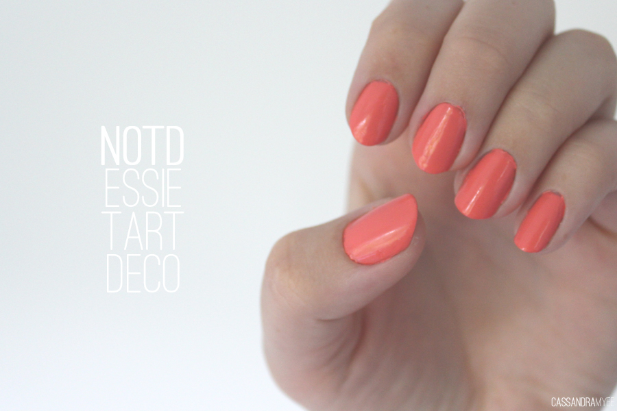 NOTD   Essie Tart Deco   CassandraMyee   NZ Beauty Blog