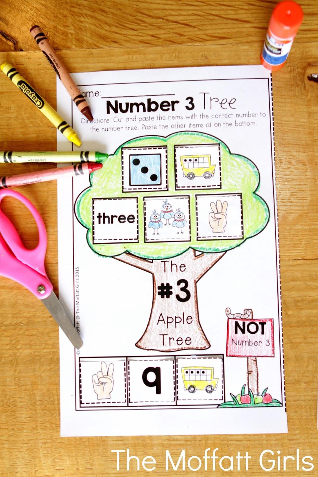 Teaching Number Sense – Kindergarten Number Sense Worksheets
