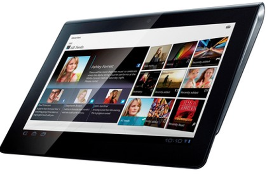 Sony Xperia Tablet with Quad Core Processor