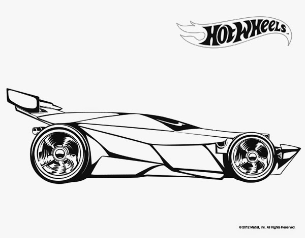 Hot Wheels Racing League Hot Wheels Coloring Pages Set 5