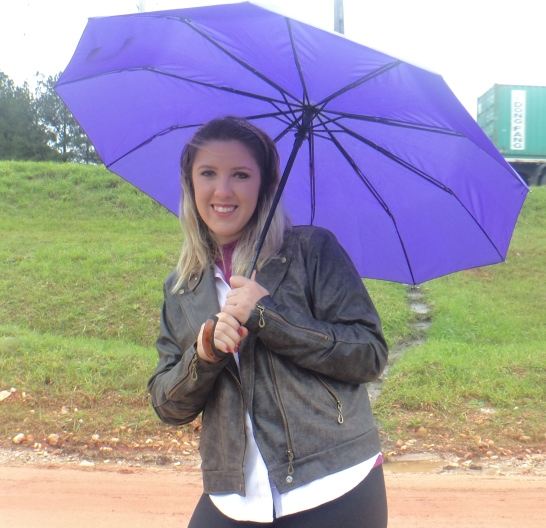 Look com Chuva - Galocha