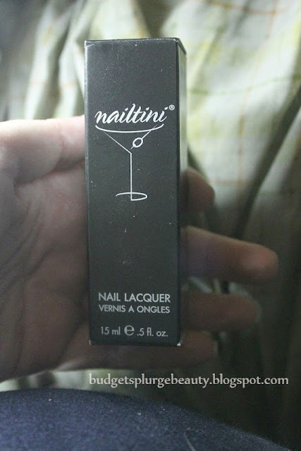 nailtini nail lacquer packaging