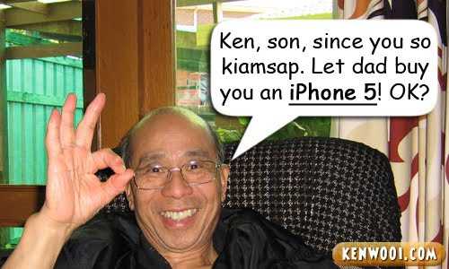 chinese dad iphone