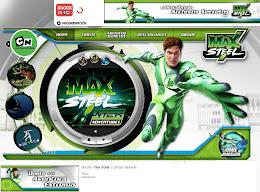 Ingresa desde aqui al nuevo sitio de Max Steel en Cartoon Network